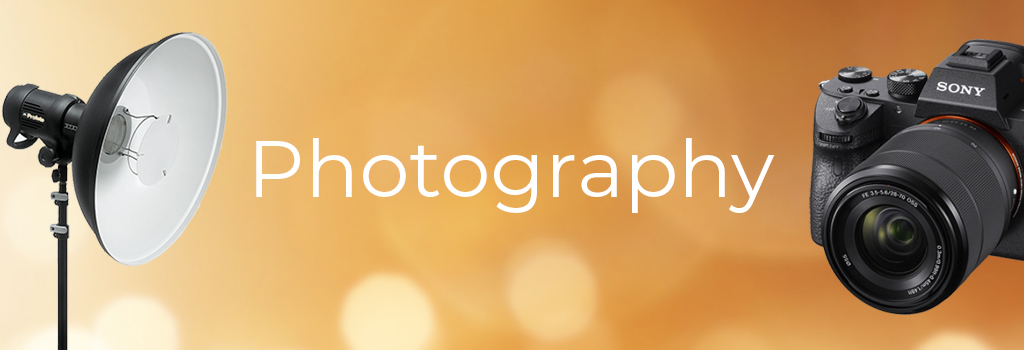 photography banner new tab